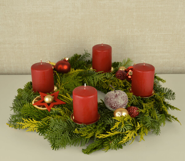 Adventskranz Advent Advent