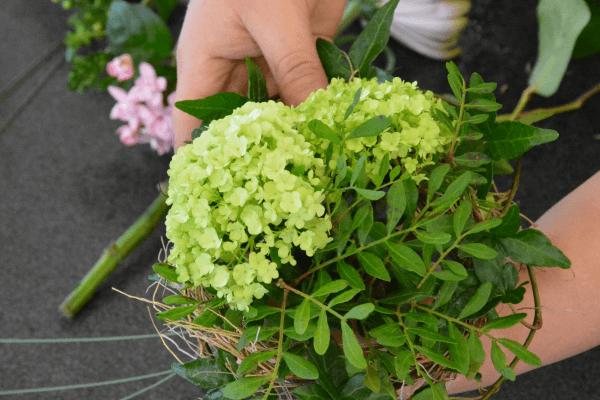 Blumenstrauss Binden Blumenversand Edelweiss
