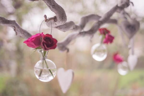 Vasen zum selber machen Blumenversand Edelweiß