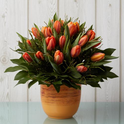 blumenstrauss tulpen