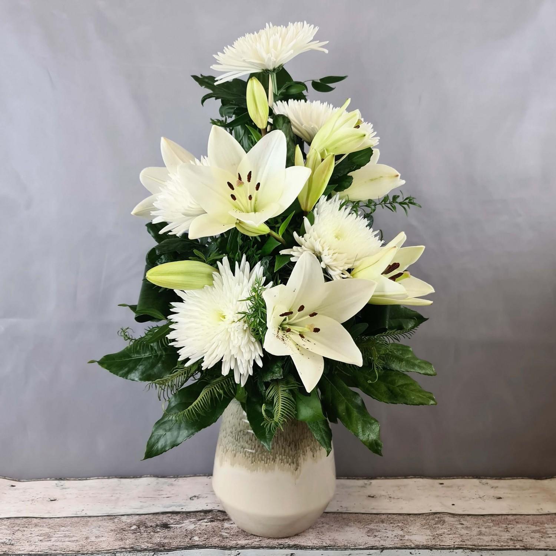 Blumenstrauß Trauer