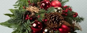 Adventskraenze und Weihnachtsgestecke