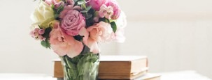 Eustoma Blumenstrauß