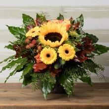 Herbststrauß Sonnenblume