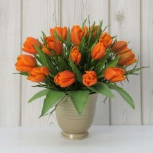 Tulpenstrauß orange