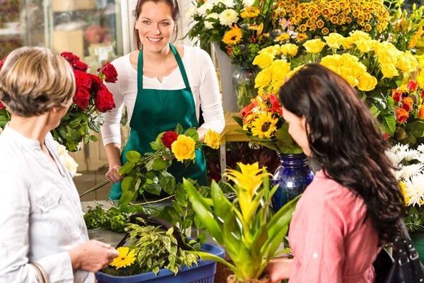 Beruf Florist