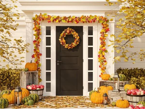 Herbstkranz DIY