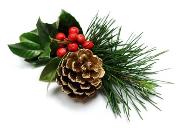 Ilex Weihnachtsdeko, Weihnachtssträuße