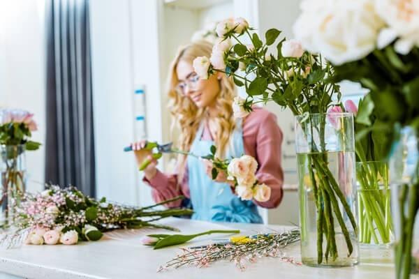 Pflege von Schnittblumen