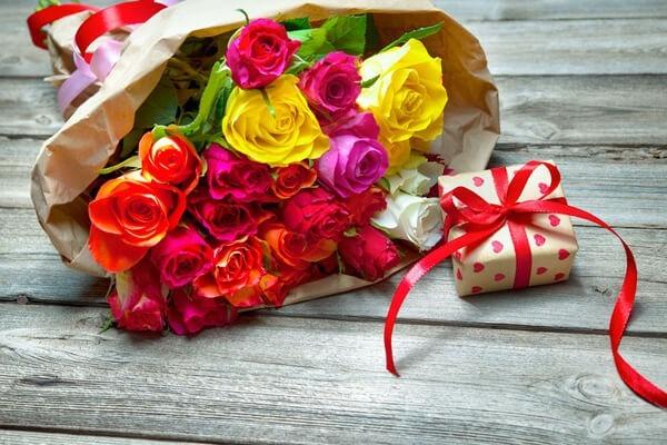 Ganz neu interpretiert: Blumengeschenke zum Valentinstag