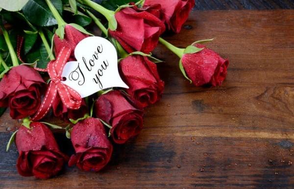 Elegant Rosen Zum Valentinstag
