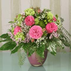 Trossrosen im Blumenstrauß