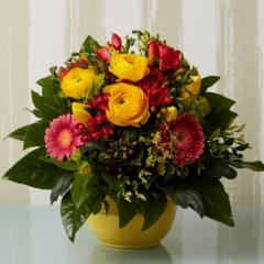 Blumenstrauß Ranunkel Frühling