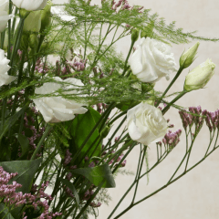 Blumenstrauß mit Eustoma