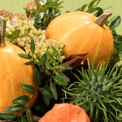 Blumenstrauß Herbst